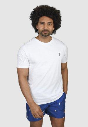 BOBBY'S GIN  - T-shirt basic - white