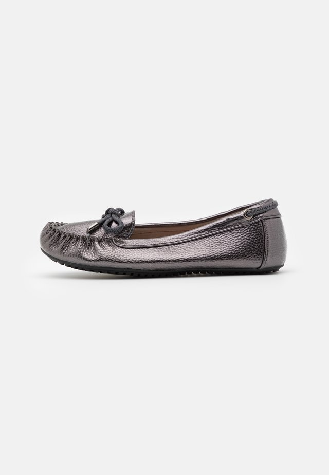 LEVI DRIVING SHOE - Mocassins - pewter