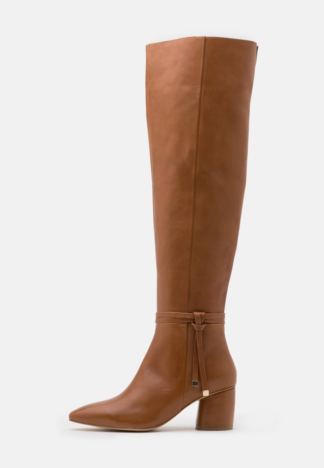 Over-the-knee boots - brown