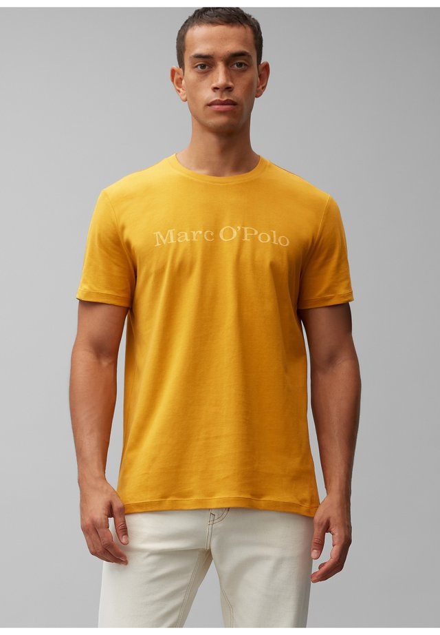 Print T-shirt - harvest gold