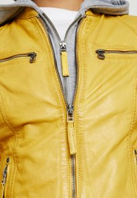 Gipsy - NOHLA - Leather jacket - yellow - 7