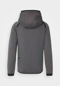 Nike Sportswear - HOODIE  - Sudadera con cremallera - dark grey/turf orange/black - 1