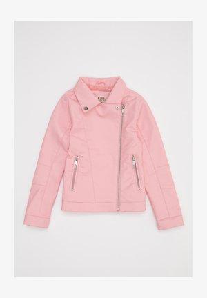 Chaqueta de cuero sintético - pink
