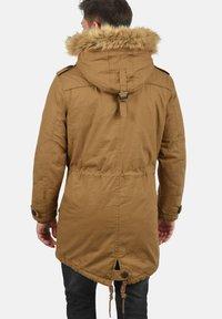 Solid - WINTERJACKE CLARKI TEDDY - Winter coat - light brown - 1
