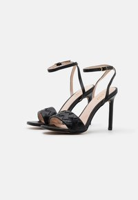 RAID - DELLA - High heeled sandals - black - 2