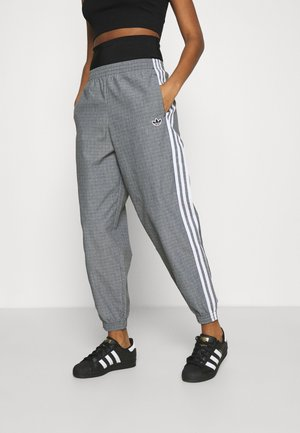 TRACKPANTS - Pantaloni sportivi - black/white