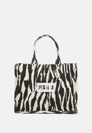 BORSA DONNA WOMANS BAG - Tote bag - black/white