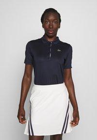 Lacoste Sport - PF5179 - Sports shirt - navy blue/white - 0