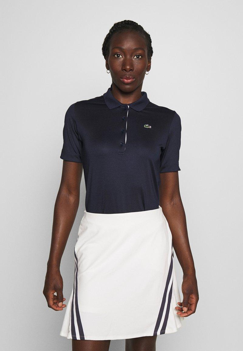 Lacoste Sport - PF5179 - Sports shirt - navy blue/white