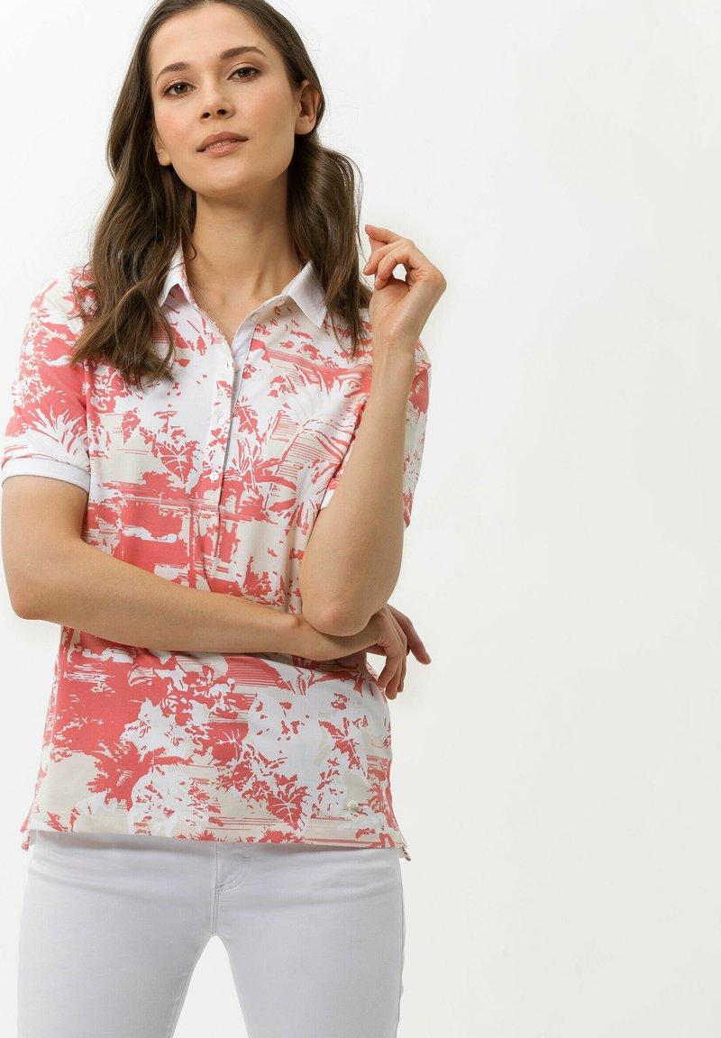 BRAX - Polo shirt - coral
