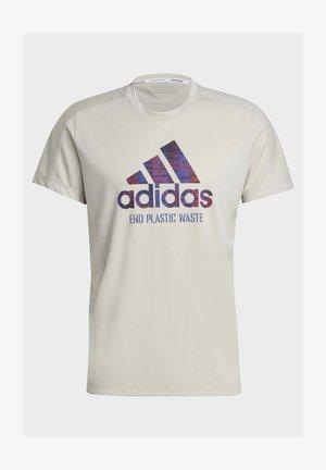 RUN FOR THE OCEANS GRAPHIC - Camiseta estampada - grey