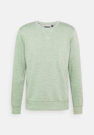 Sweatshirt - mint green/light grey marl