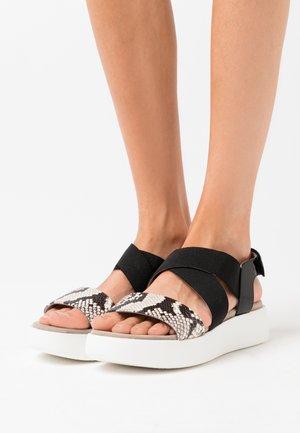 BALMAN - Platform sandals - black