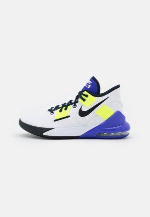 AIR MAX IMPACT 2 - Chaussures de basket - white/black/indigo burst/volt