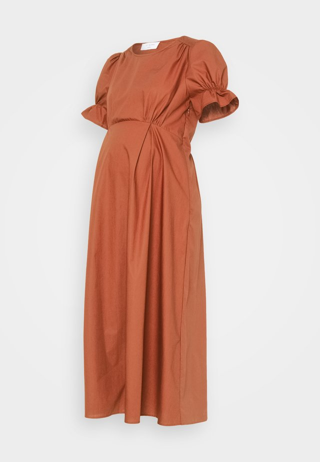 ROYO - Maxi dress - rusty red