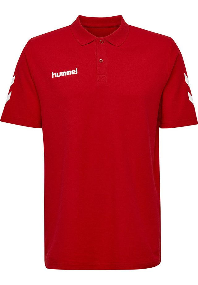 Polo shirt - true red