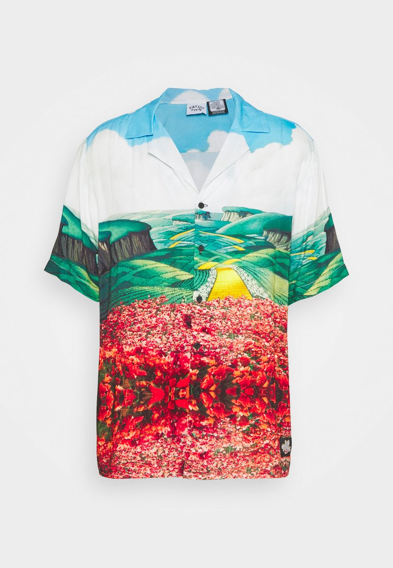 Vintage Supply - THE WIZARD UNISEX - Button-down blouse - multi