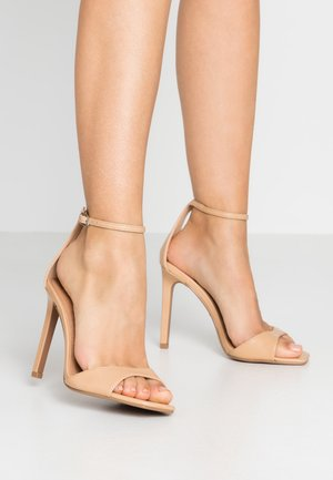 WIDE FIT SILVY PART - Sandaletter - nude