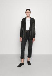 HUGO - ARIESA - Short coat - black - 1