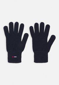 Tommy Jeans - BASIC FLAG GLOVES - Rękawiczki pięciopalcowe - blue - 0