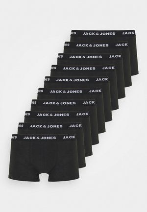 JACSOLID TRUNKS 10 PACK - Underbukse - black