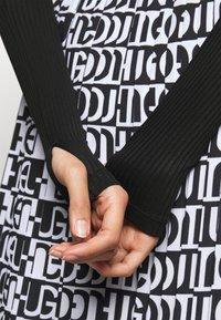 HUGO - NEXY - Long sleeved top - black - 5