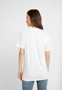 Merchcode - LADIES FAKE UNICORN TEE - Print T-shirt - white - 2
