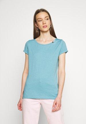 FLORAH  - Print T-shirt - baltic