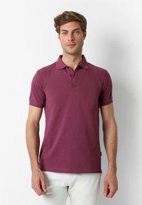 Scalpers - Polo shirt - burgundy - 0
