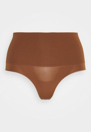 TAKE CONTROL HIGH WAIST G STRING - Thong - chocolate mousse