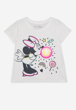 TODDLER GIRL  - T-shirt z nadrukiem - ivory frost