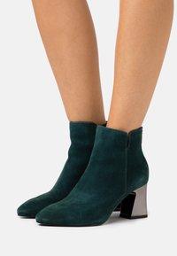 Tamaris - Ankle boots - petrol - 0