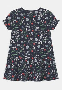 Lindex - MINI STRAWBERRY - Jerseyjurk - navy - 1