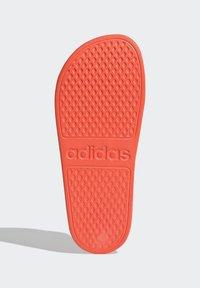 adidas Performance - ADILETTE AQUA - Pool slides - orange - 3