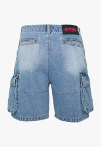 Grimey - YANGA  - Denim shorts - light blue - 1
