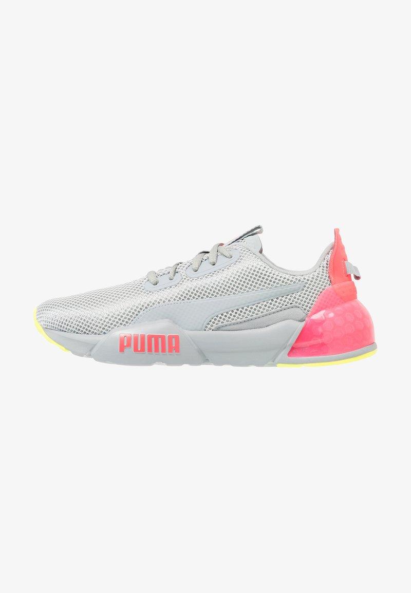 Puma - CELL PHASE - Neutrala löparskor - quarry/pink alert