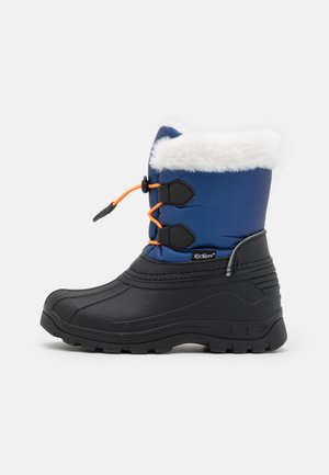 UNISEX - Winter boots - bleu/noir