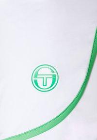 Sergio Tacchini - SHORTS WOMAN - Sportovní kraťasy - blanc de blanc/island green - 2