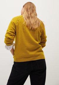 Violeta by Mango - ARAN - Jumper - mustard - 2