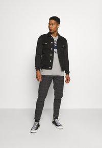 Redefined Rebel - JONAH - Denim jacket - black stone - 1