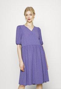 Monki - Day dress - lilac/purple medium dusty - 0