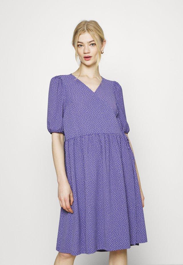 YOANA DRESS - Korte jurk - lilac/purple medium dusty