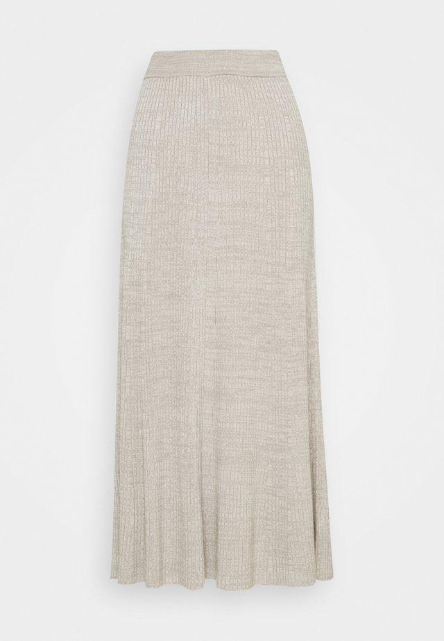 SKIRT - A-linjainen hame - ash grey