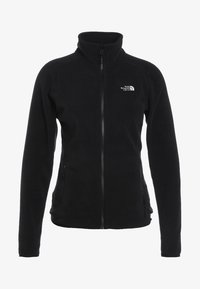 The North Face - WOMENS GLACIER FULL ZIP - Fleecejakker - black - 5