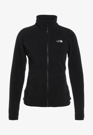 GLACIER FULL ZIP - Fleecejas - black