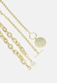 SNÖ of Sweden - DAY BIG NECK PLAIN 2 PACK - Necklace - gold-coloured - 1