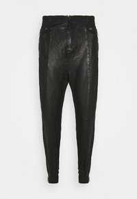 Be Edgy - BEMARIUS - Leather trousers - black - 0