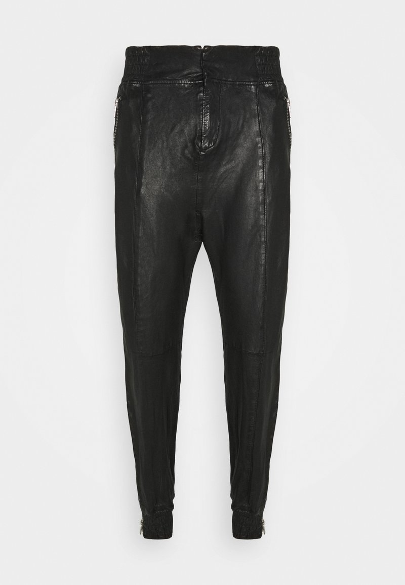 Be Edgy - BEMARIUS - Leather trousers - black