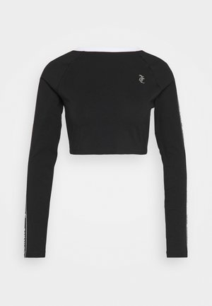 JANET - Long sleeved top - black