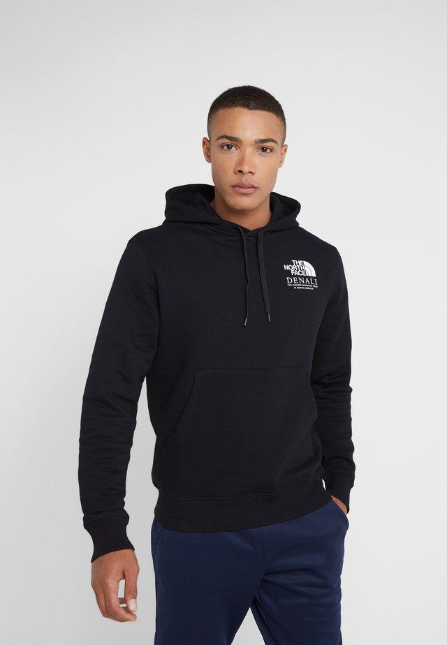 HIGHEST PEAKS HOODIE - Bluza z kapturem - black